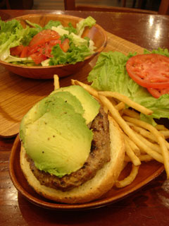 Kua'aina - Avocado Burger