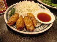 鶏皮餃子 by やまちゃん